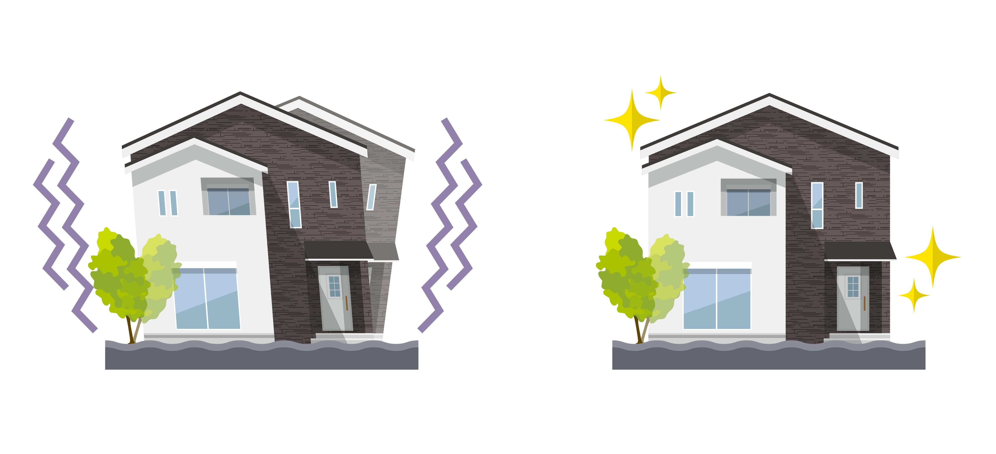 旧耐震と新耐震基準の違い
